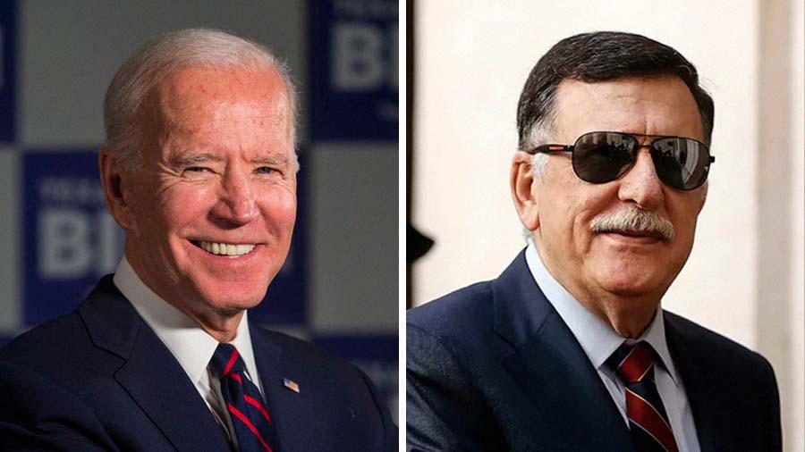 السراج يهنئ الرئيس الأمريكي المنتخب جوزيف بايدن على فوزه بالرئاسة